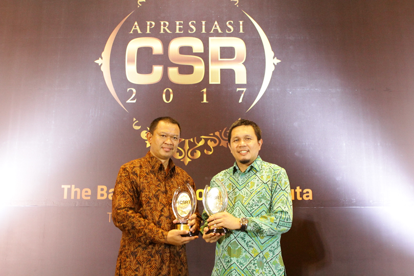 Toyota Indonesia Received 'Appreciation CSR 2017' Award by Sindo Media
