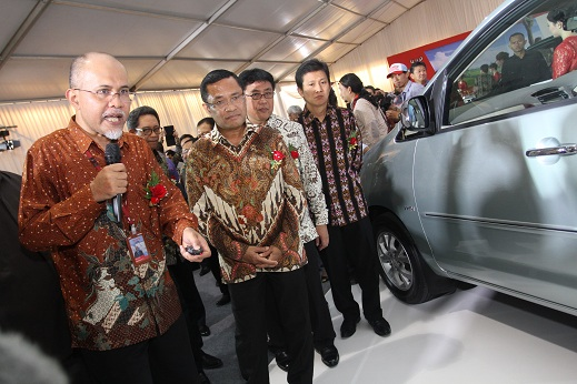 PT TMMIN celebrates the first production of the All New Kijang Innova