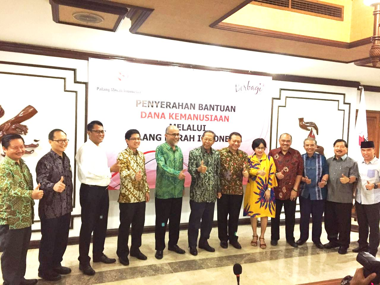 TOYOTA INDONESIA ONCE AGAIN DONATE TO PMI (Palang Merah Indonesia)