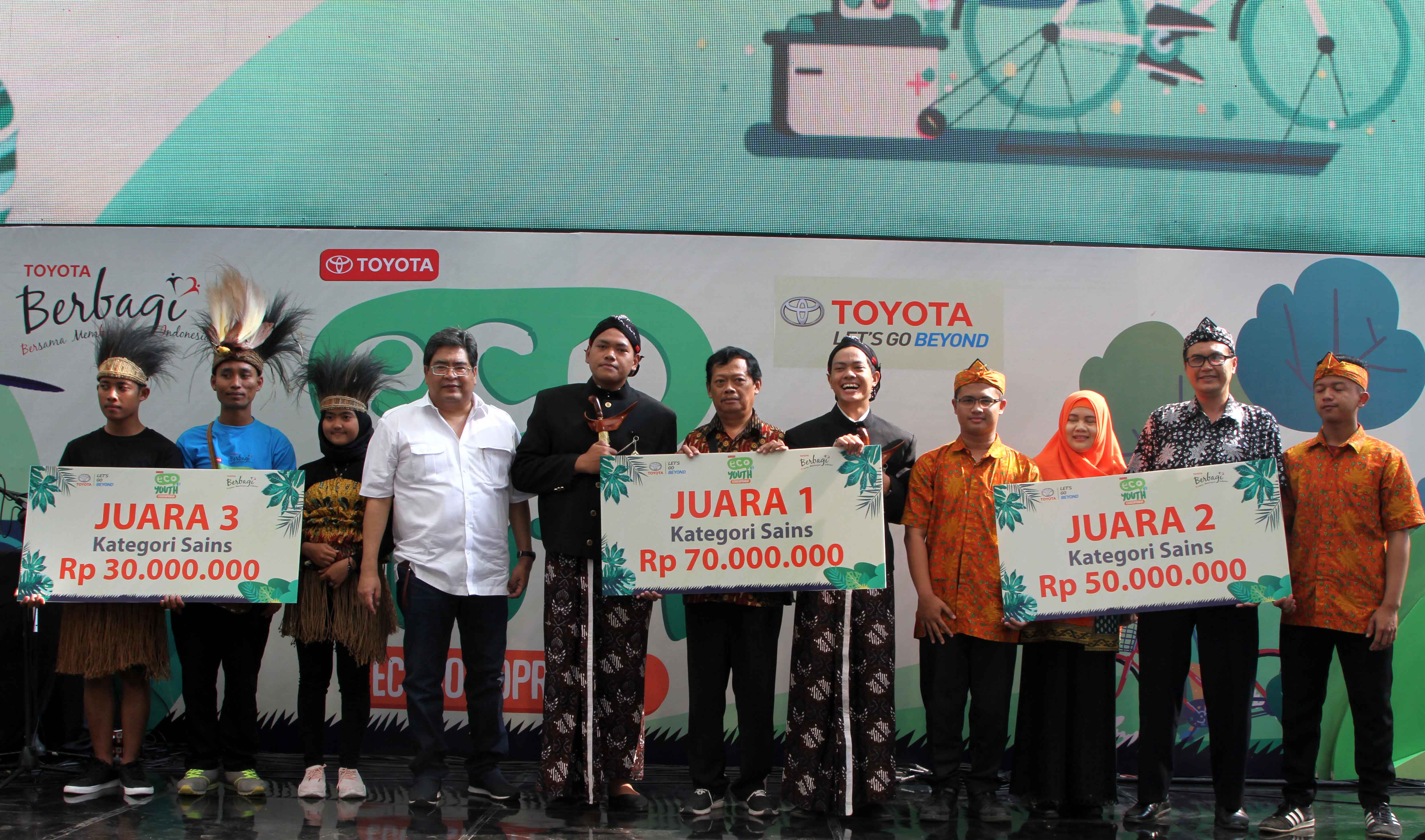 Toyota Eco Youth Awarding Ke-11