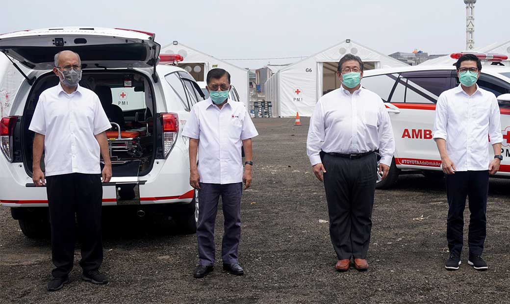 Fighting Against COVID-19 Toyota Provide Assistance for Indonesian Society