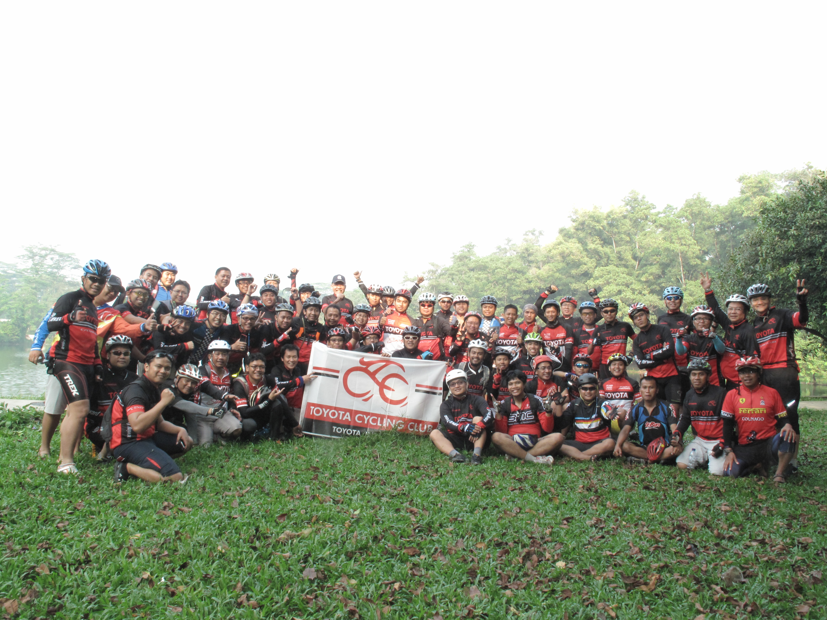 Toyota Cycling Club First Event in 2016