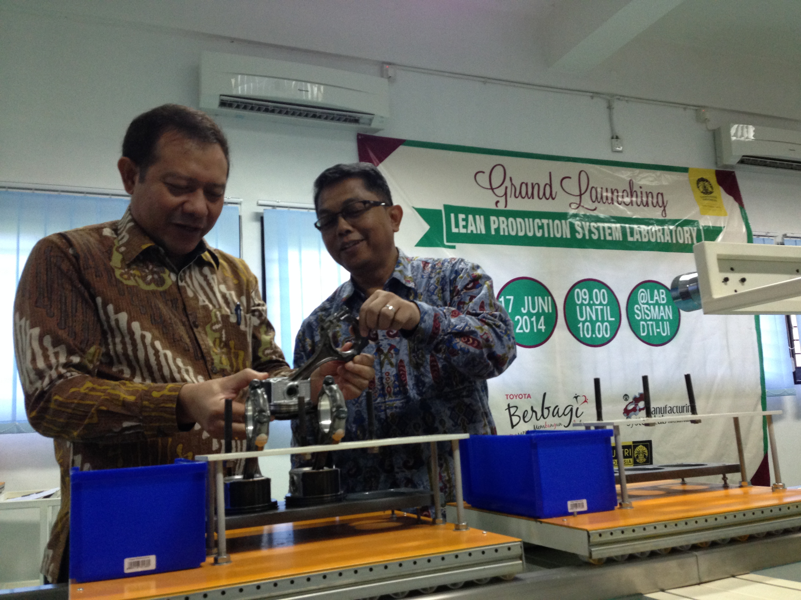 Bantuan Lab. Lean Prod Mfg UI 2014
