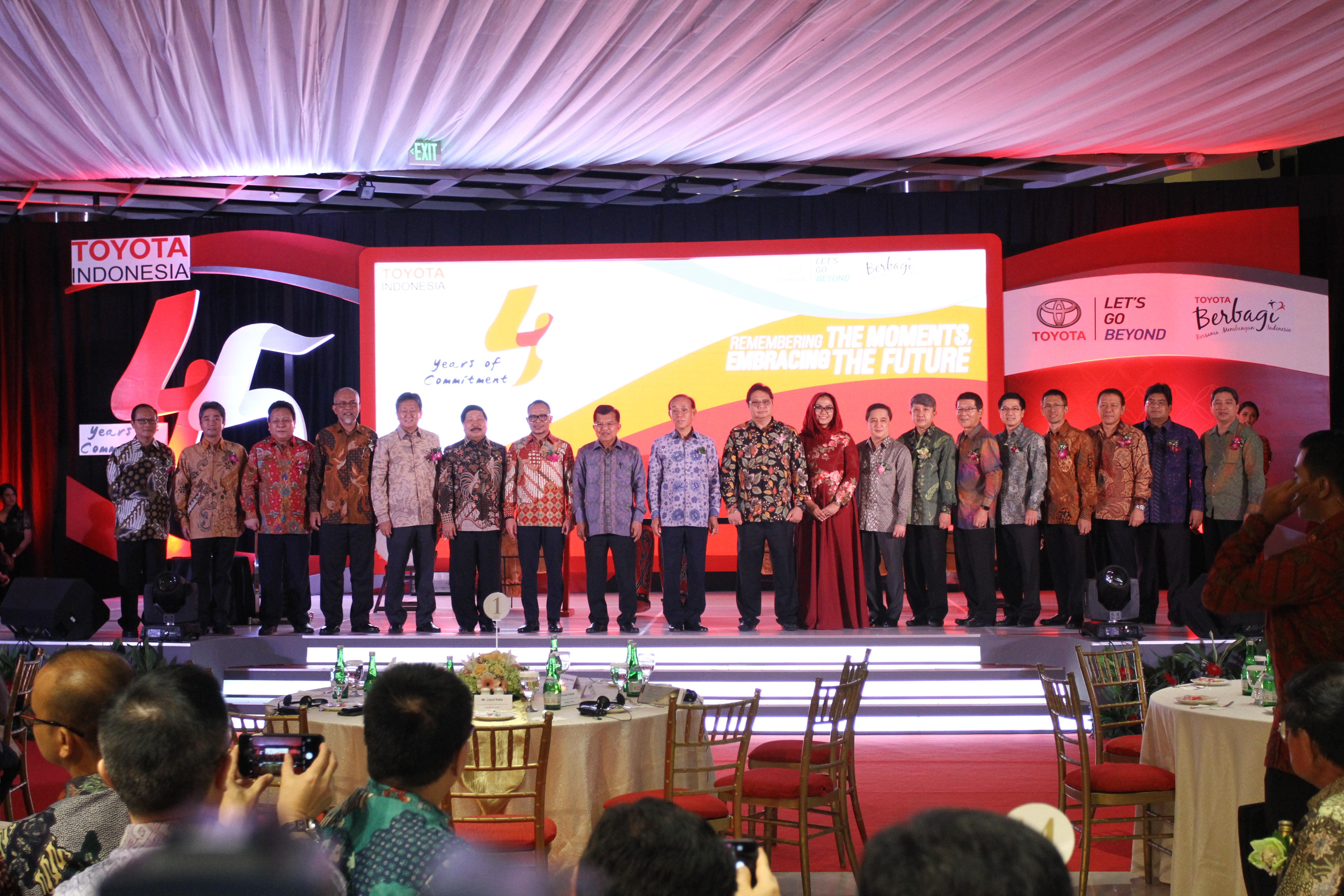 45 years of Toyota in Indonesia