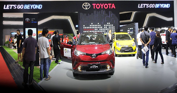 Toyota Indonesia at IIMS 2018
