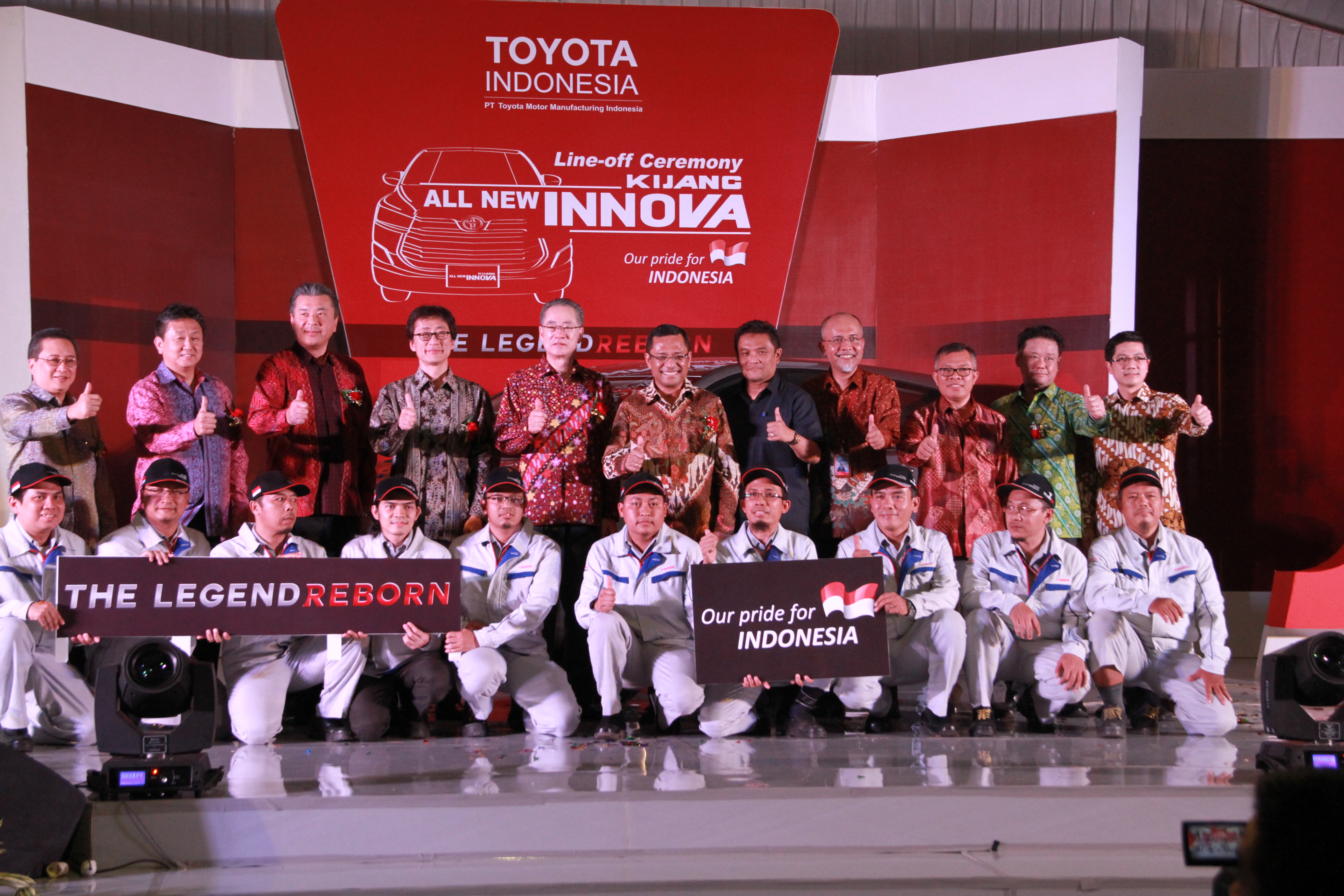 Toyota Indonesia Celebrates Production of The All New Kijang Innova