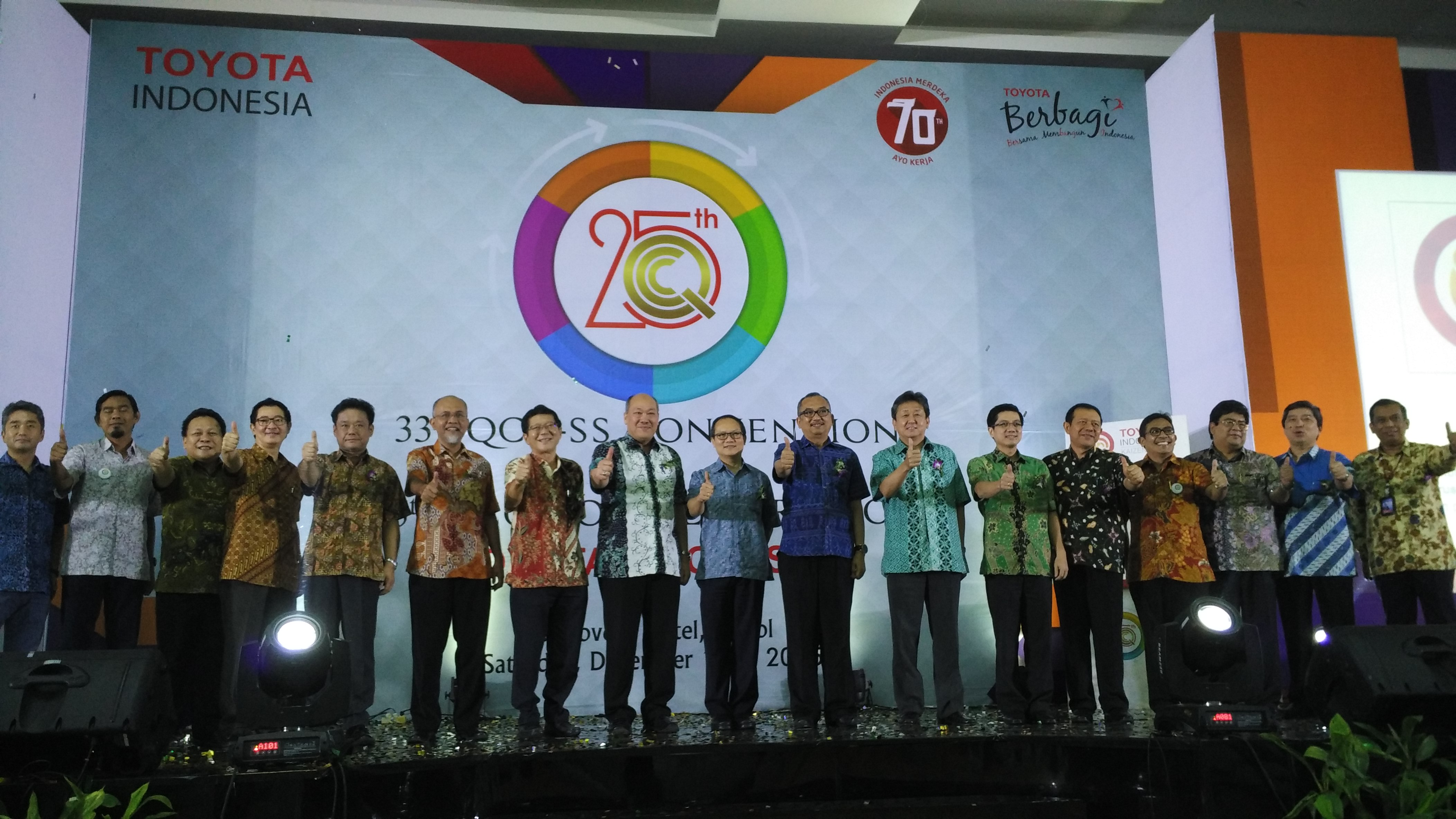 25 Years of The Quality Control Circle Convention
