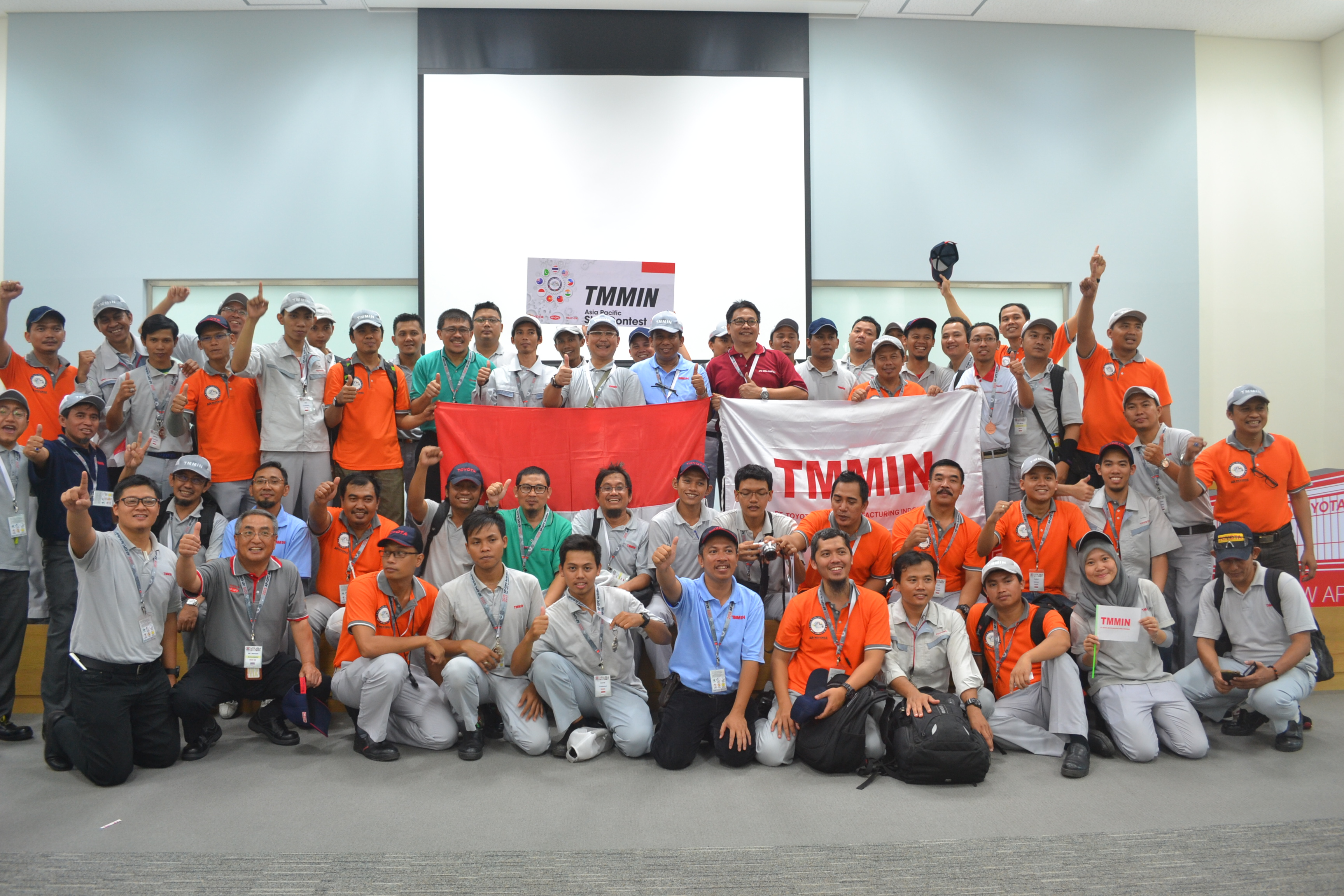 TMMIN Representative in Asia Pacific Skill Contest 2015