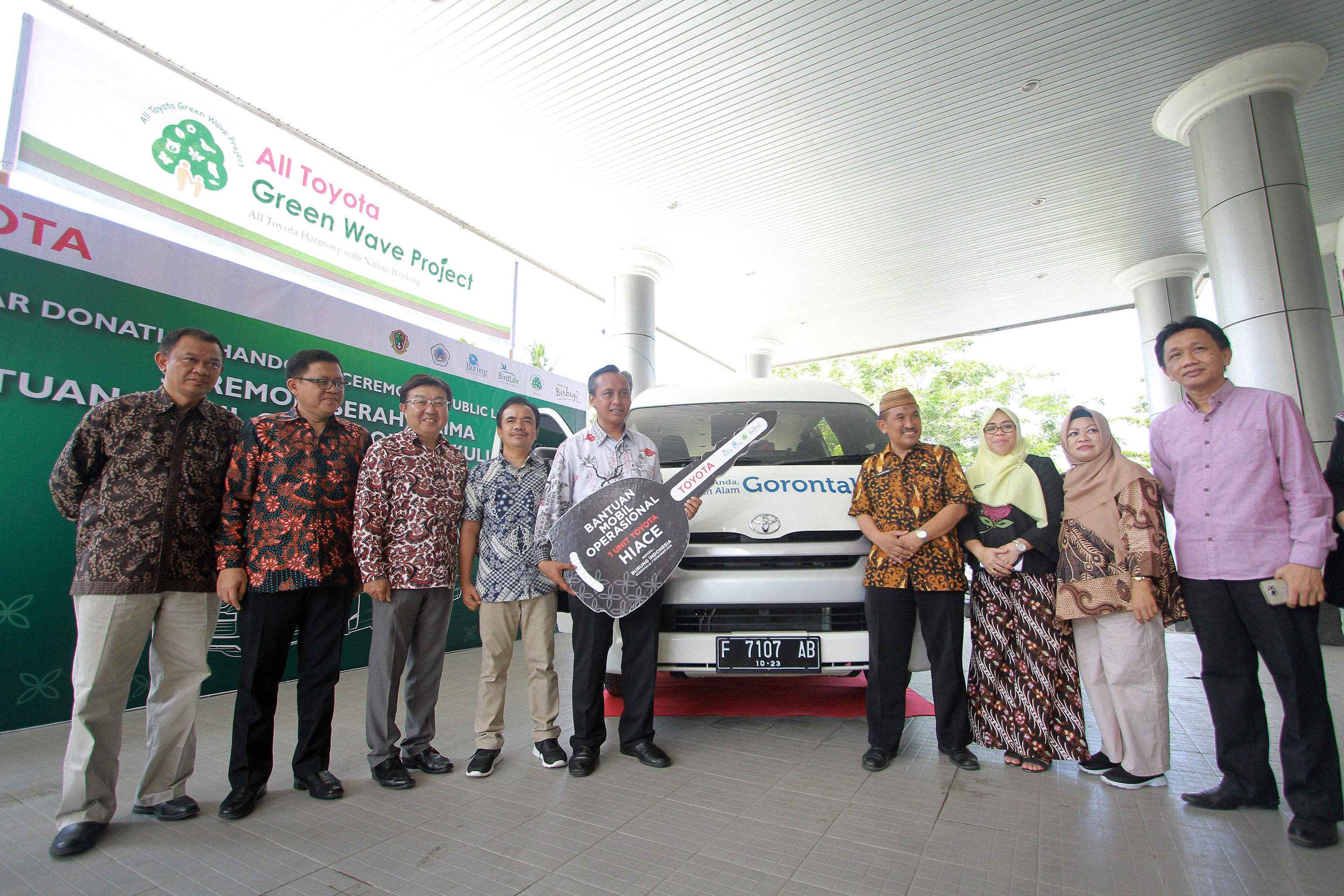 Supporting the Biodiversity Conservation Education in Gorontalo