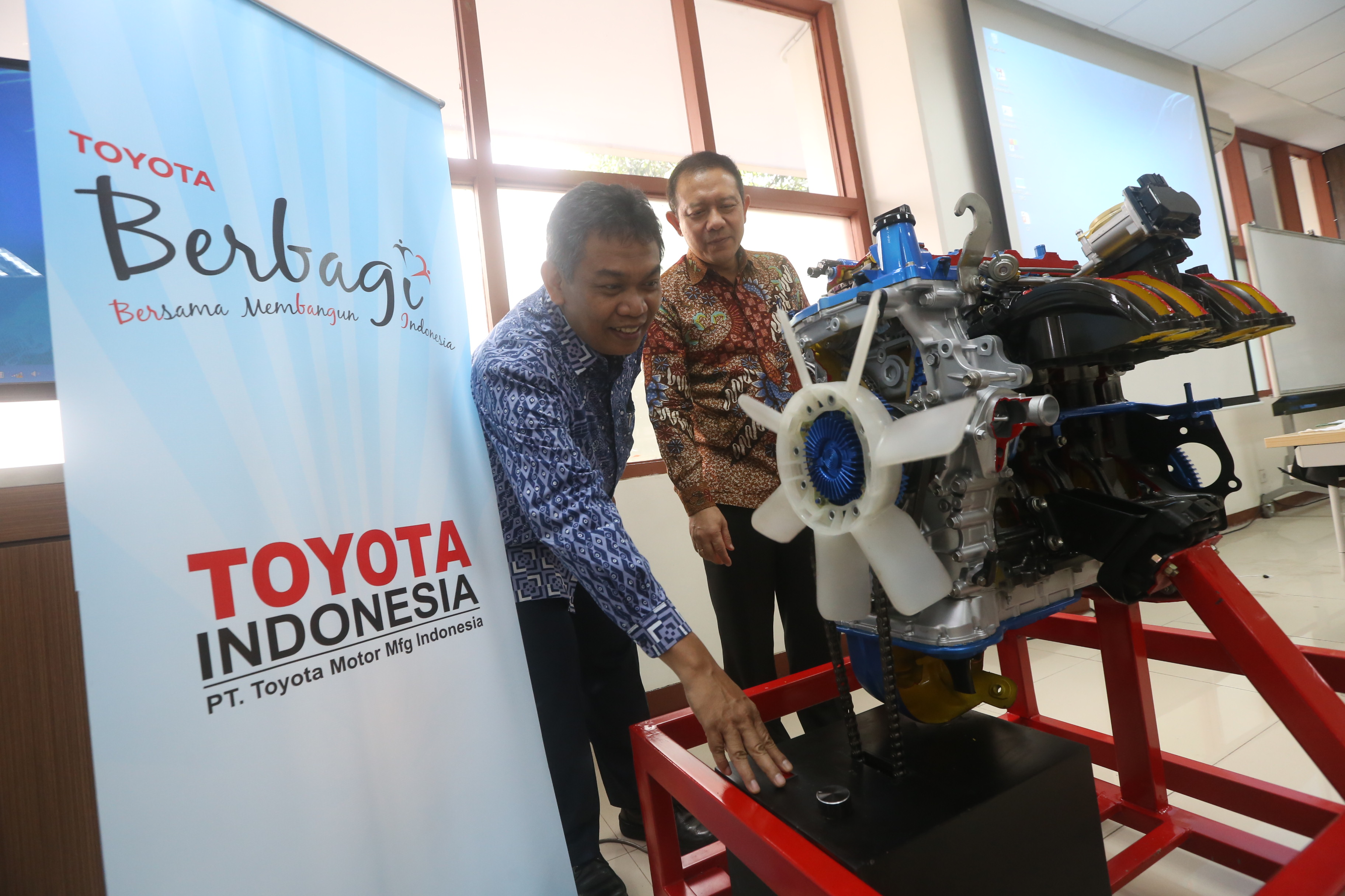 Toyota Machine Donation for ITB