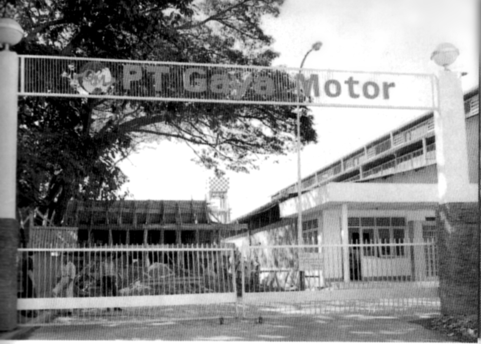 The Front gate of PT Gaya Motor Assembly Plant