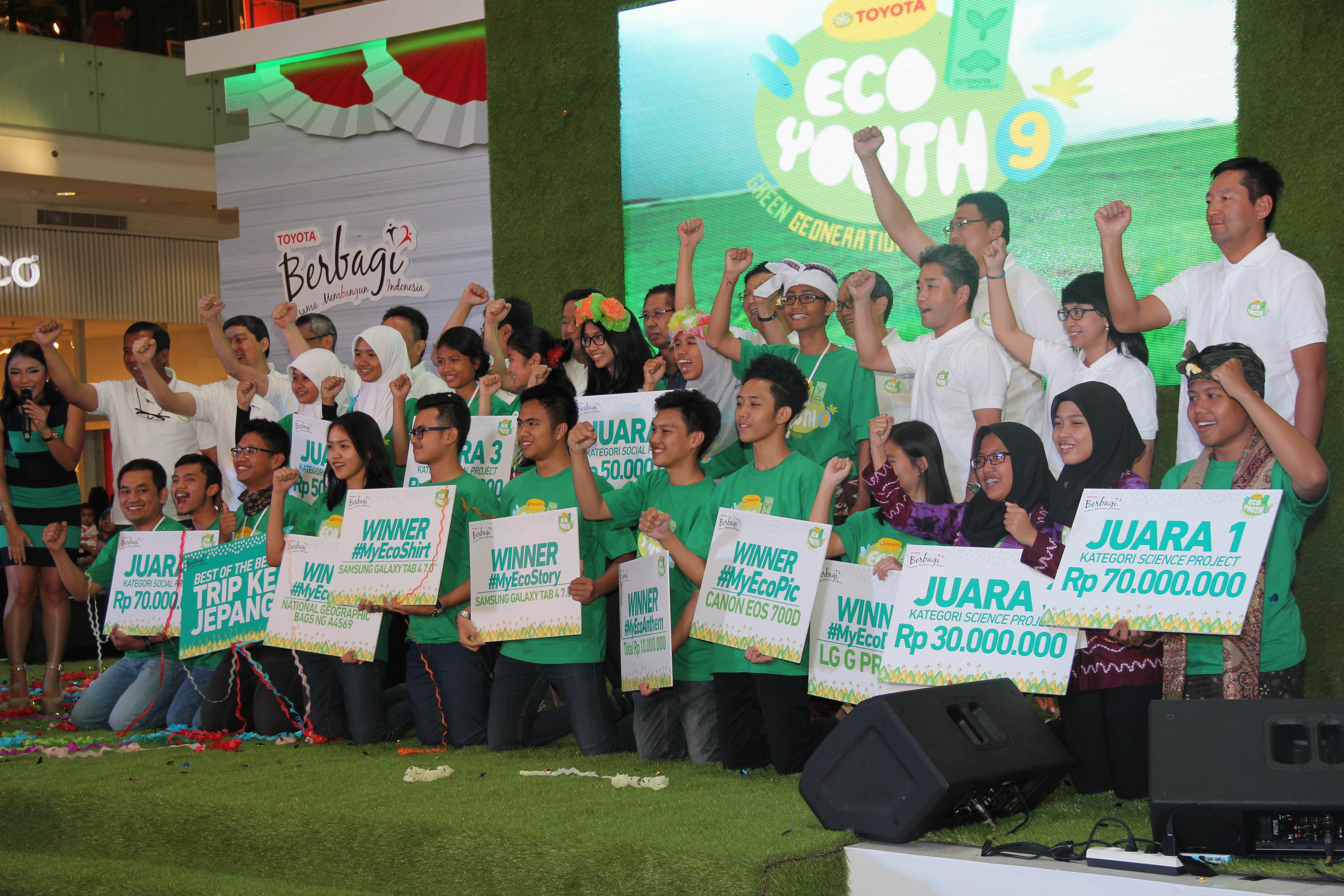 """Best of The Best"" Eco Youth Winner Join Environmental Training in Japan"