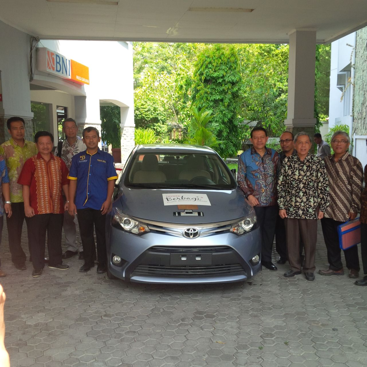 Vios Donation To UGM 2014