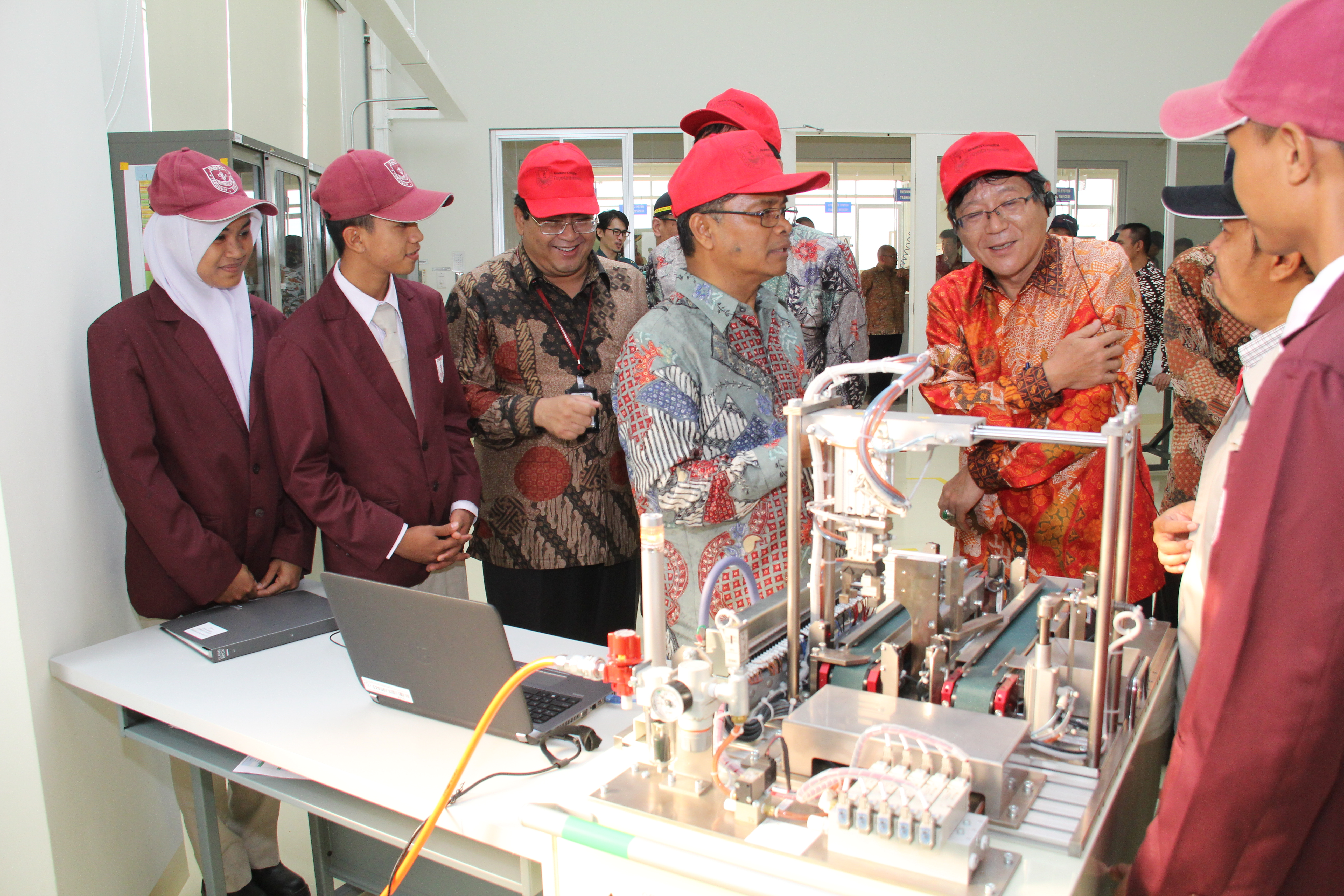 Toyota Indonesia Starts the Project of an Automotive Manufacturing Academy