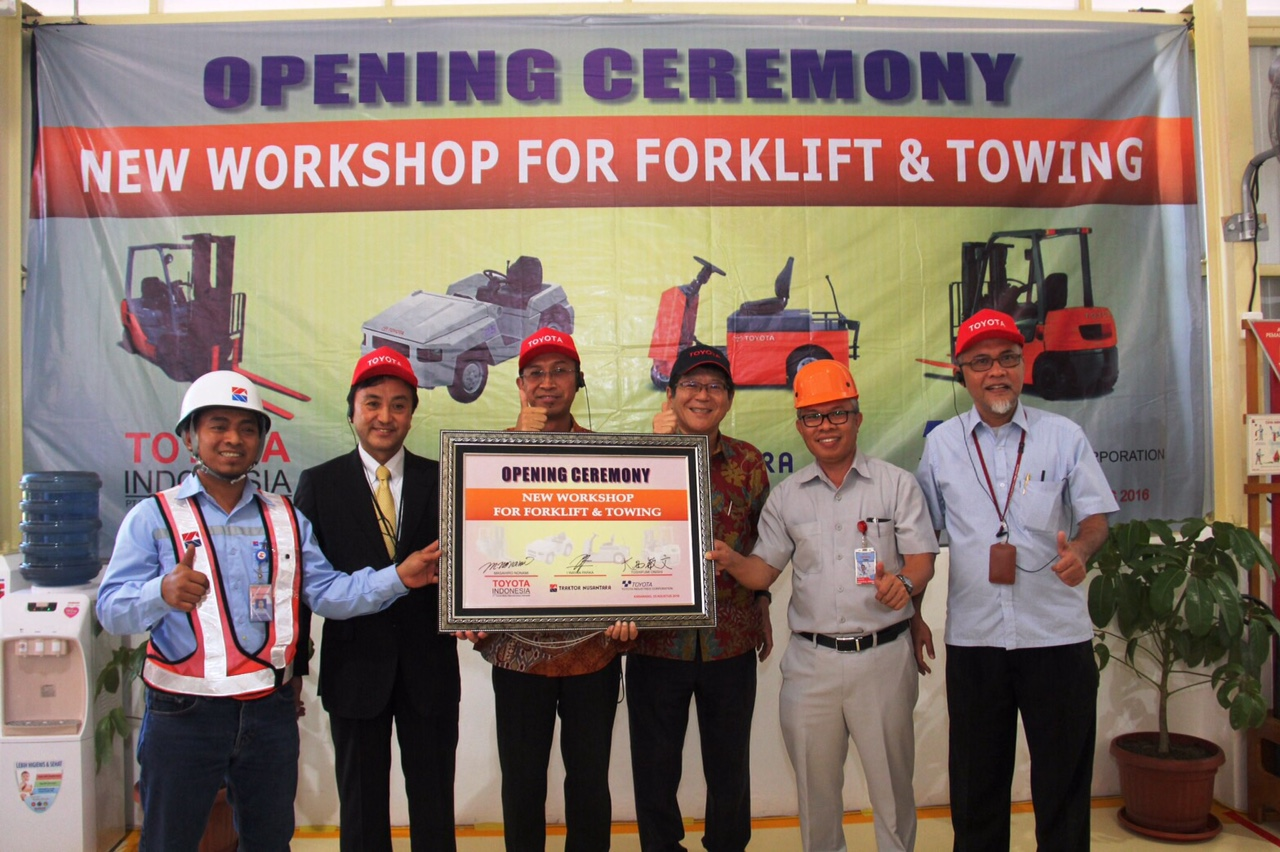 Forklift Maintanance Workshop 2016