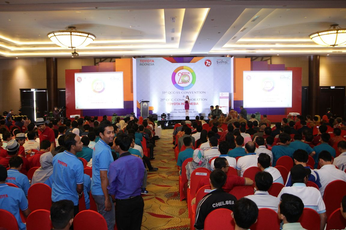 25 Years Toyota Indonesia's Quality Control Circle Convention