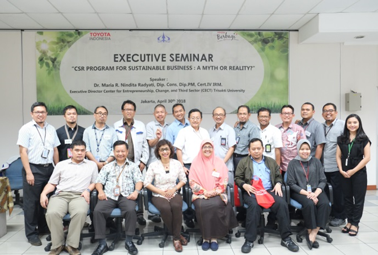 Seminar CSR For Sustainable Business : A Myth or Reality?