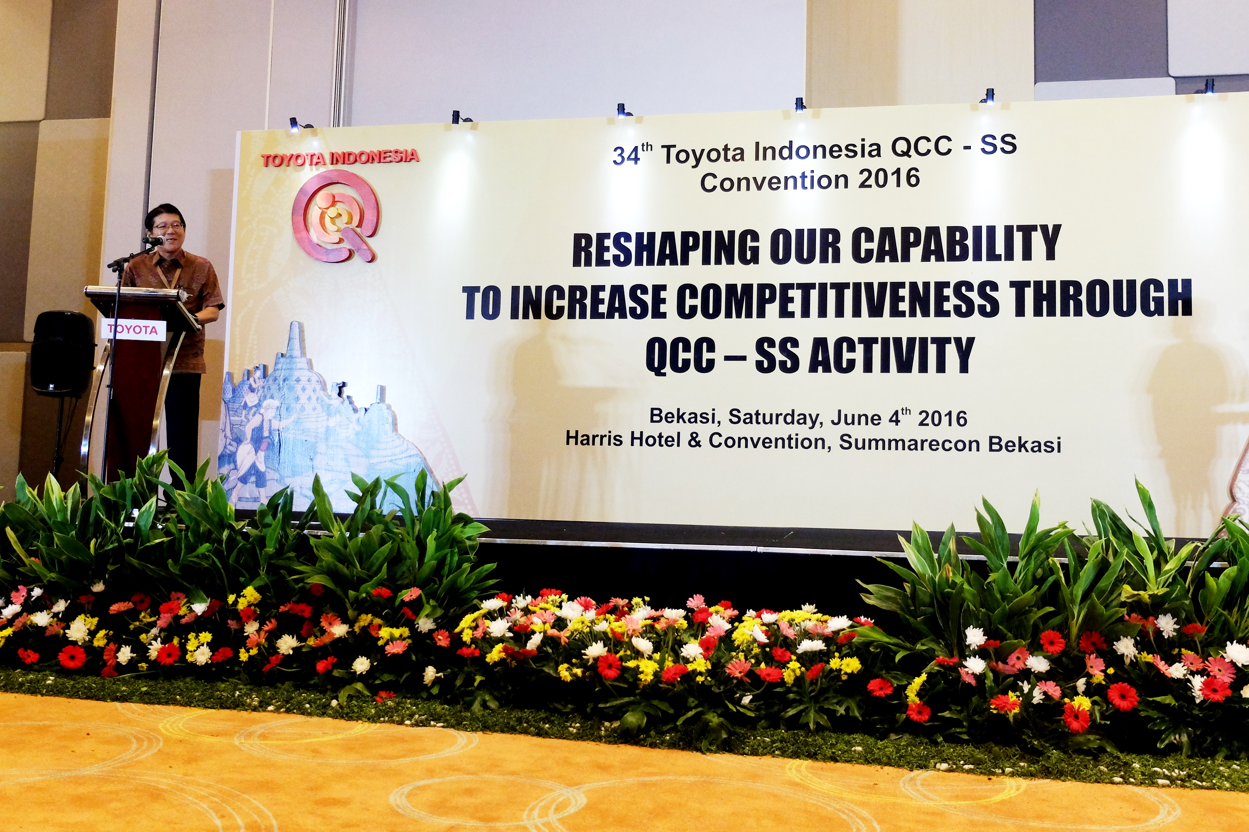 34th Toyota Indonesia QCC-SS Convention 2016