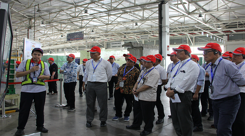 Happyoukai Activity - Supplier's Top Management Visit to Karawang Plant
