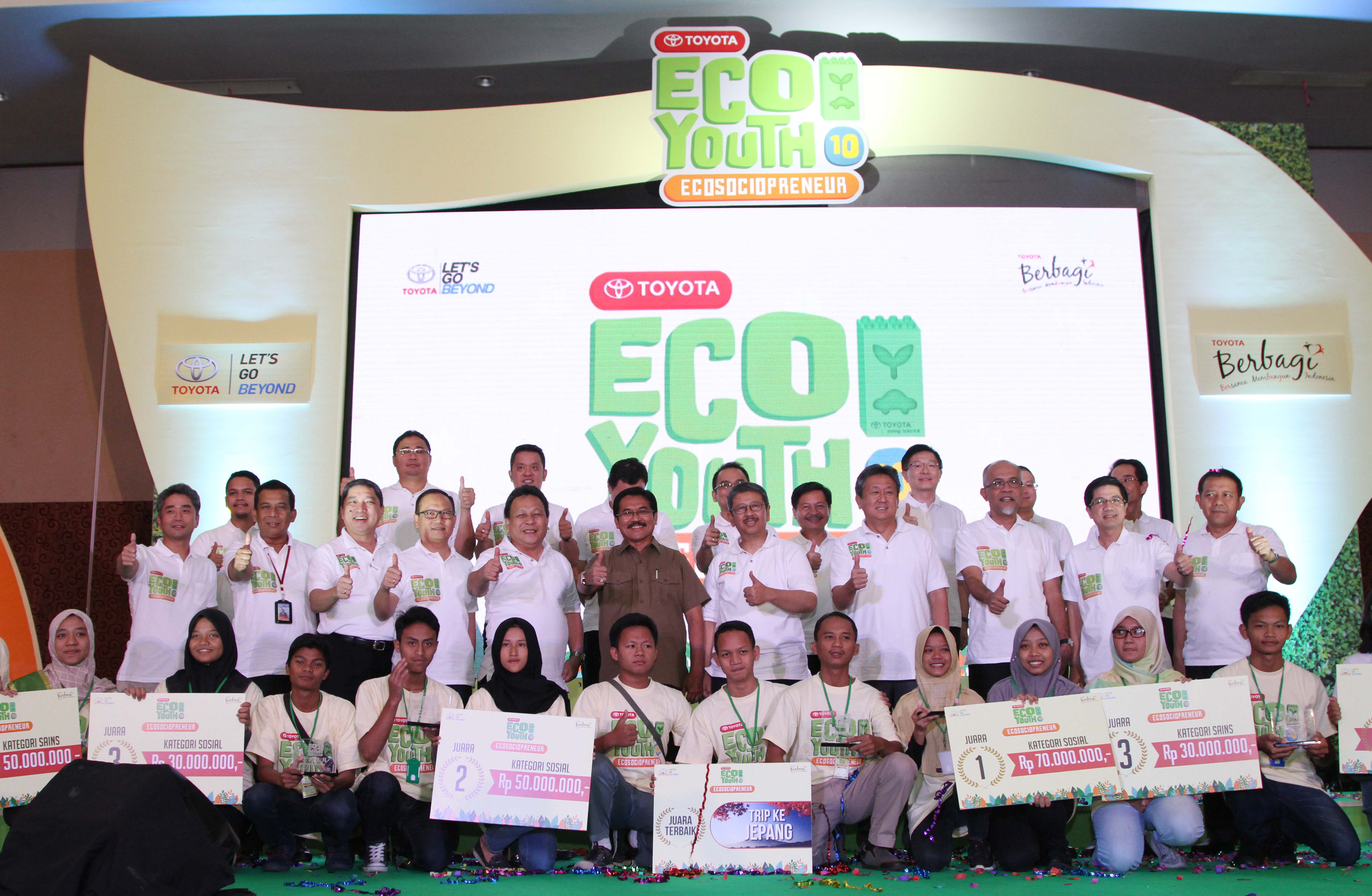 ENVIRONMENTAL COMPETITION IN THE 10th TOYOTA ECO YOUTH