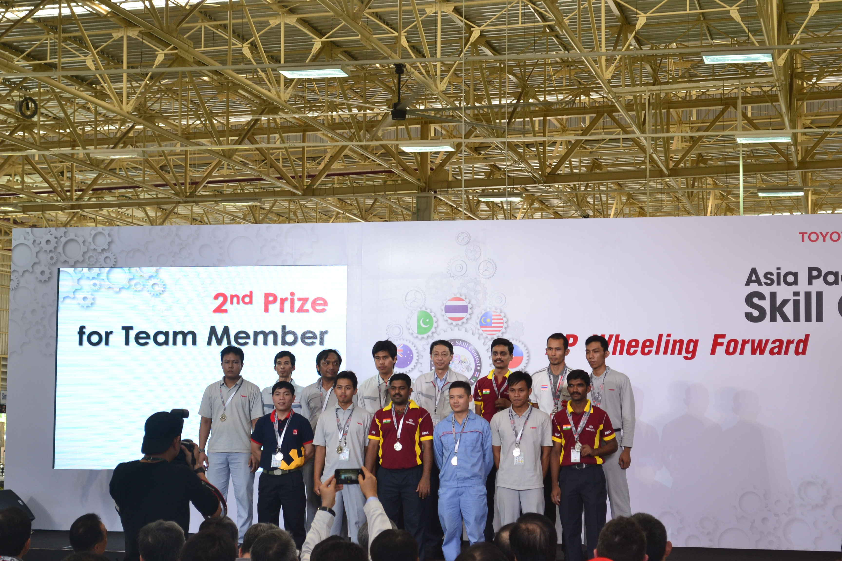 TMMIN Won Most Medals at Asia Pacific Contest 2015