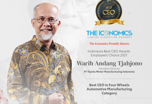 Indonesia Best CEO Awards Employee's Choice 2021