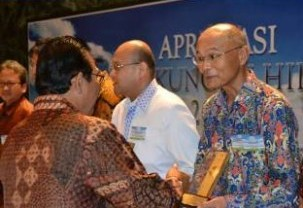 The Best Environment Management Company by Government of DKI Jakarta 2012