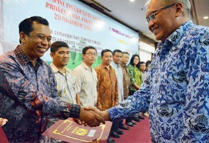 The Best Environment Management & Performance Award 2016 from Government of DKI Jakarta