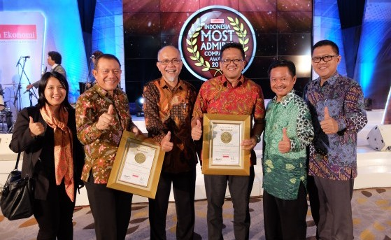 For the second time, TMMIN received WIMACO 2016 award