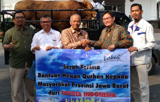 Qurban with Toyota Indonesia