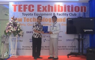 Toyota Equipment & Facility Club Annual Exhibition 2017