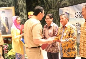 The Best Environment & Performance Award by Government of DKI Jakarta 2015