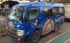 Donation Mobile Library - Bus 2014