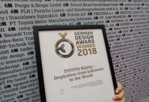 AWARD AT THE GERMAN DESIGN AWARDS 2018