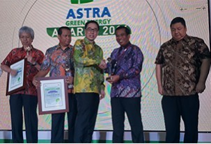 ASTRA GREEN ENERGY AWARD 2016 – The Best Program of Energy Improvement & Renewable Energy