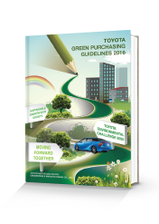 TOYOTA GREEN PURCHASING GUIDELINES 2013
