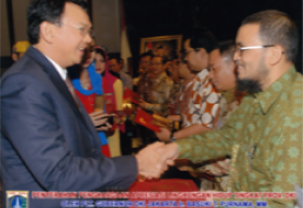 The Best Environment Management Company by Government of DKI Jakarta 2013