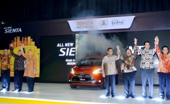 All New Sienta Line Off Ceremony