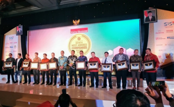 TMMIN Once Again Awarded Indonesia Most Admired Company 2018